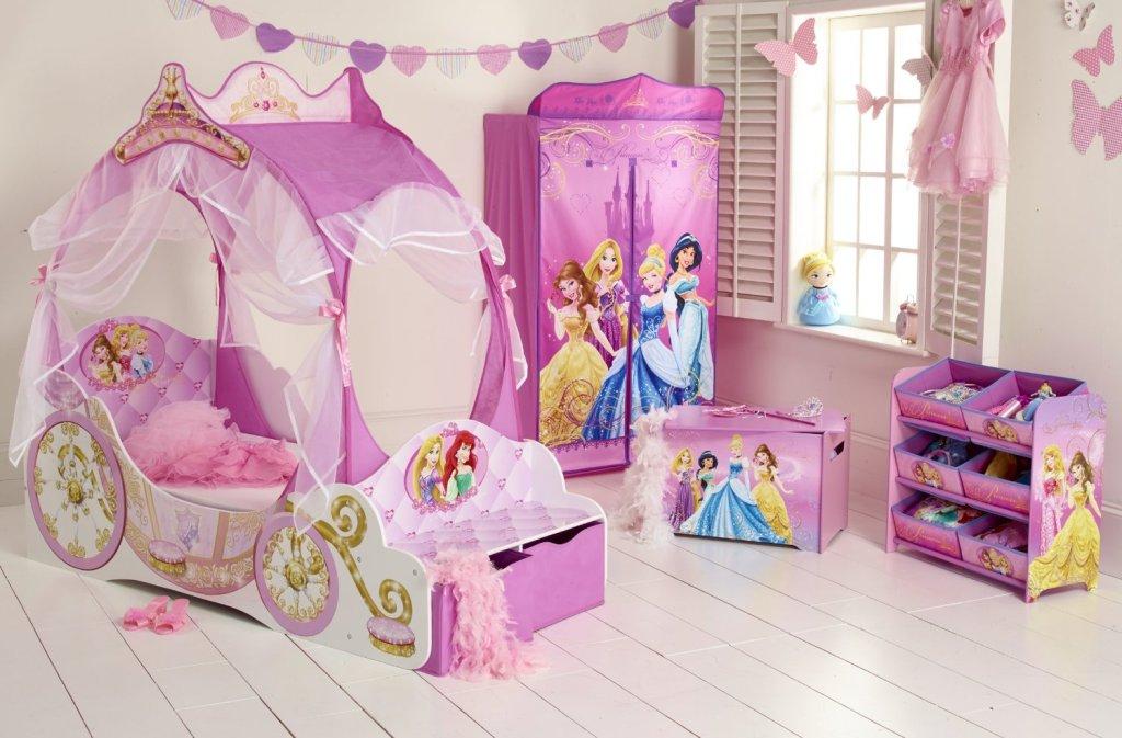Chambre-princesse-disney-idée