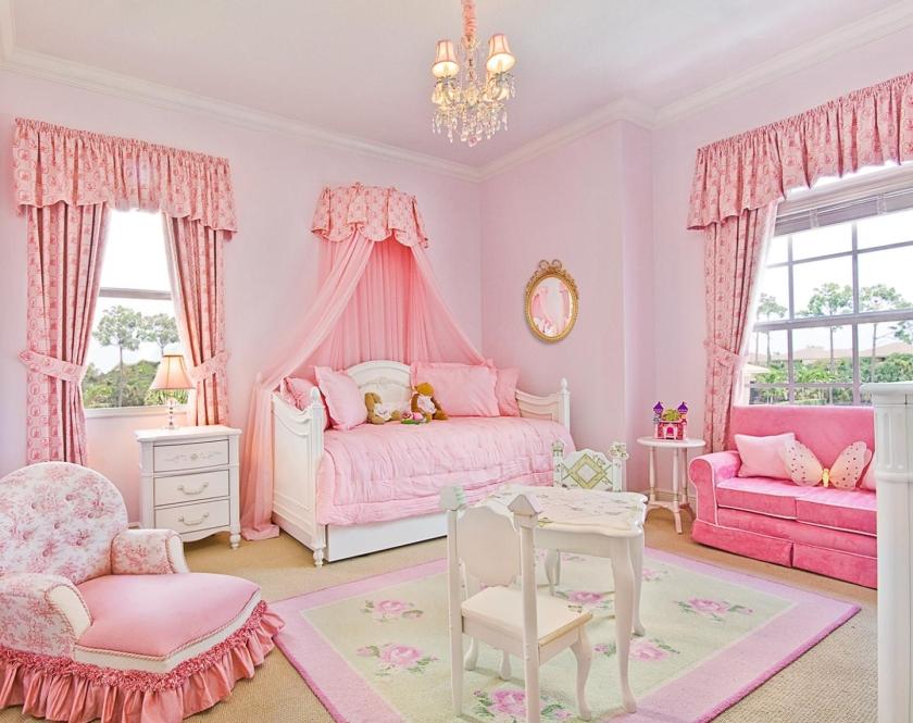 chambre-princesse-rose