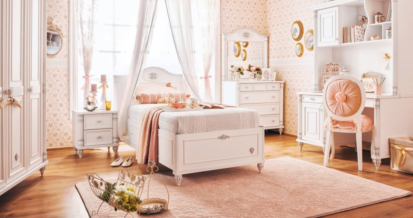 chambre-princesse-vintage