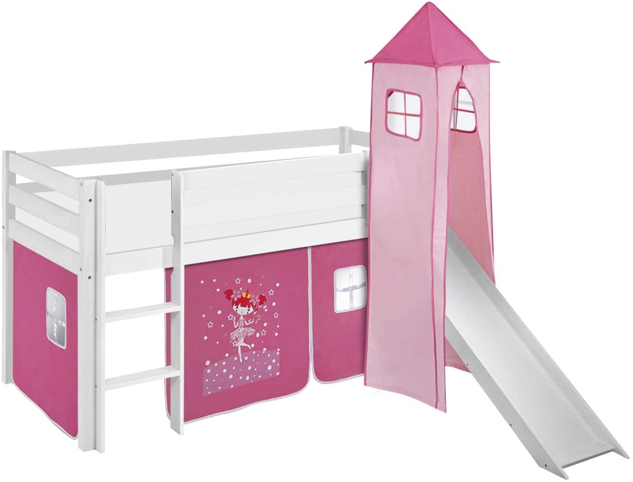 Lit-chateau-fort-rose