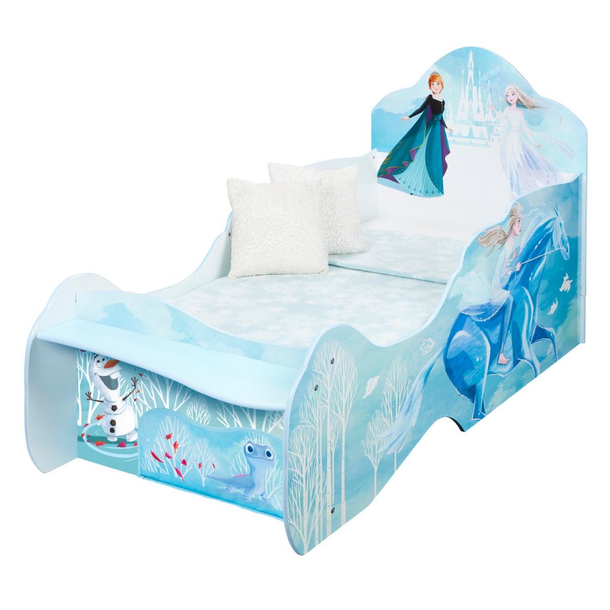 lit-reine-neiges-traineau-bleu